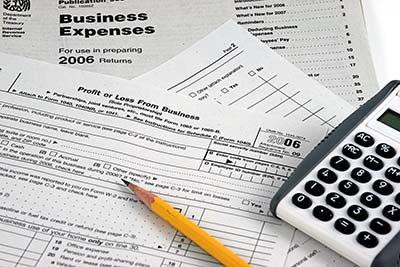 tax preparation documents image