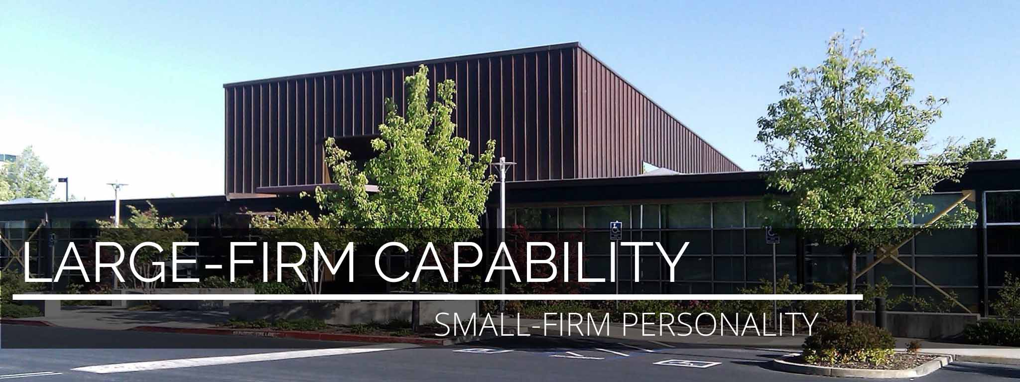 a large CPA firm capability, but a small firm personality